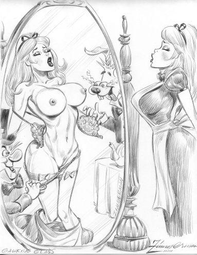 disney porn wonderland alice in Cat o nine tails ragnarok