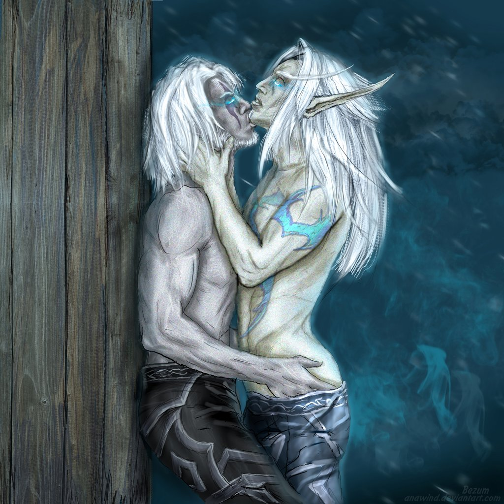 night and elf blood elf The rules of the death note
