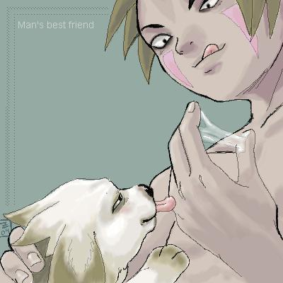 kiba and naruto sex gay Pretty pridot by bingo tarte