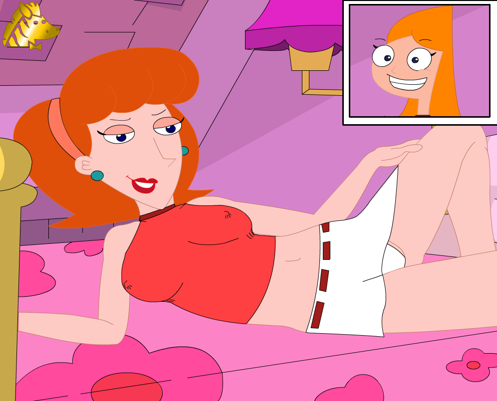 phineas candace naked ferb and My little pony trixie porn