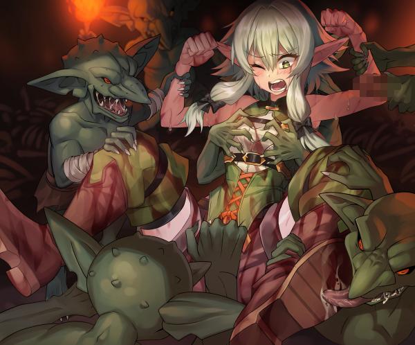 goblin manga slayer rape scenes Male to female transformations cartoon
