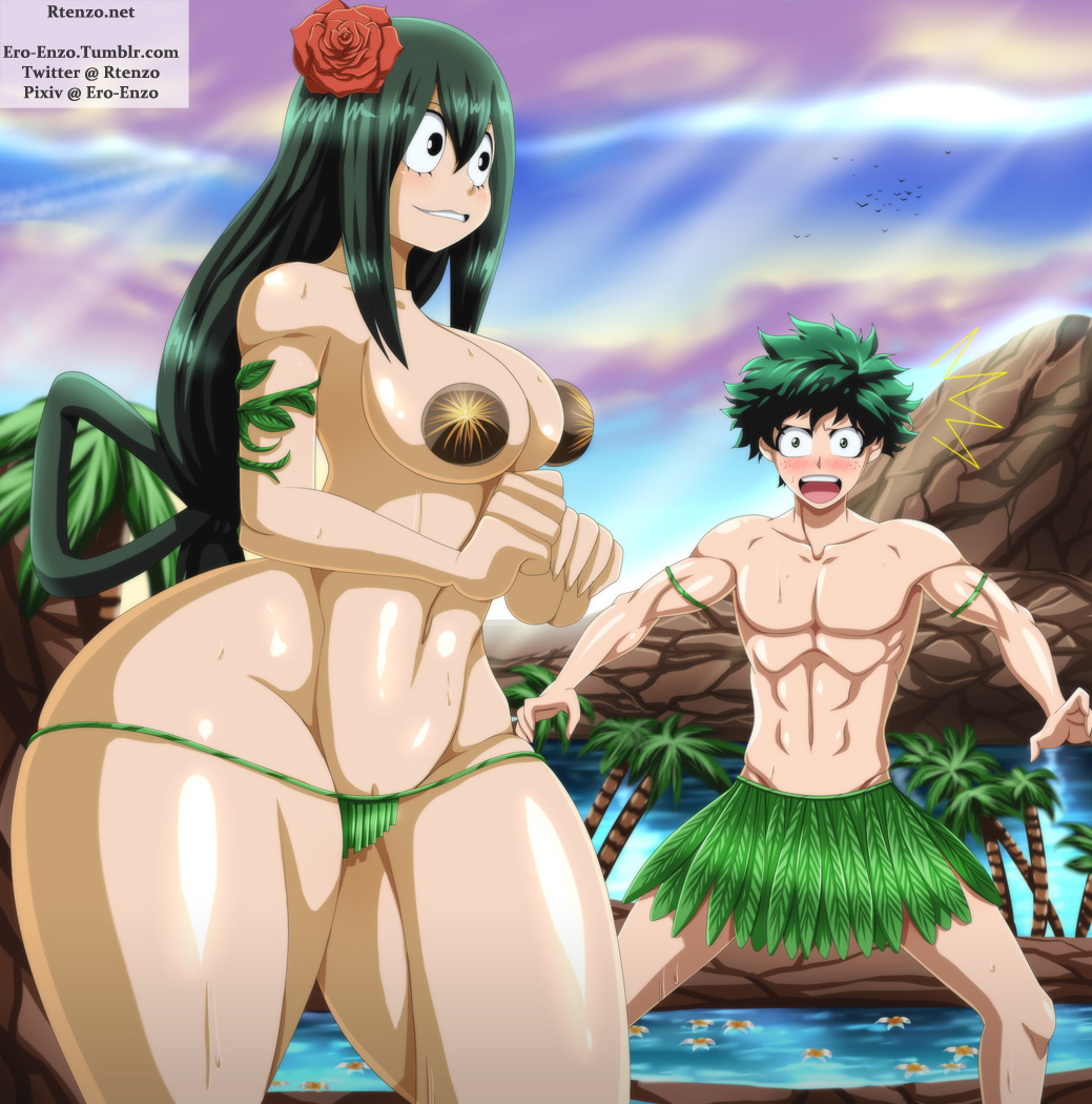 asui tsuyu boku hero academia no What if adventure time was an anime game