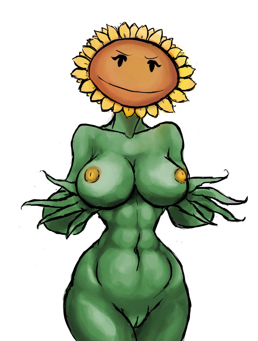 2 sunflower plants primal vs zombies No game no life jibril eyes
