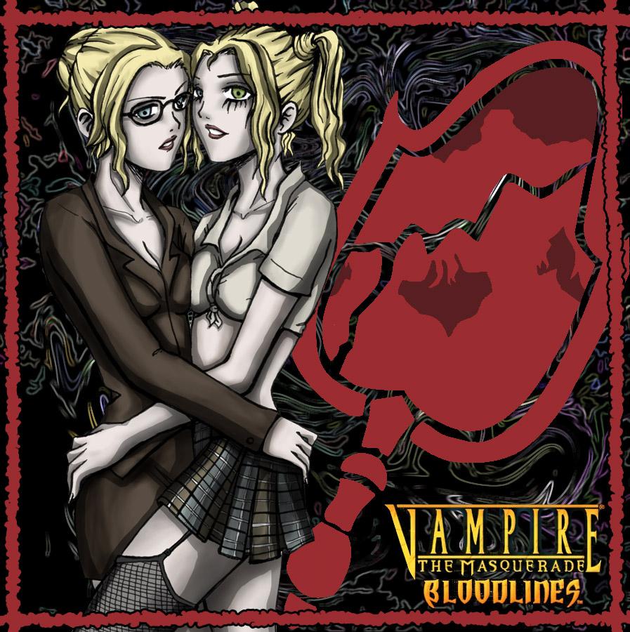 bloodlines masquerade the tourette vampire Rainbow six siege valkyrie elite skin