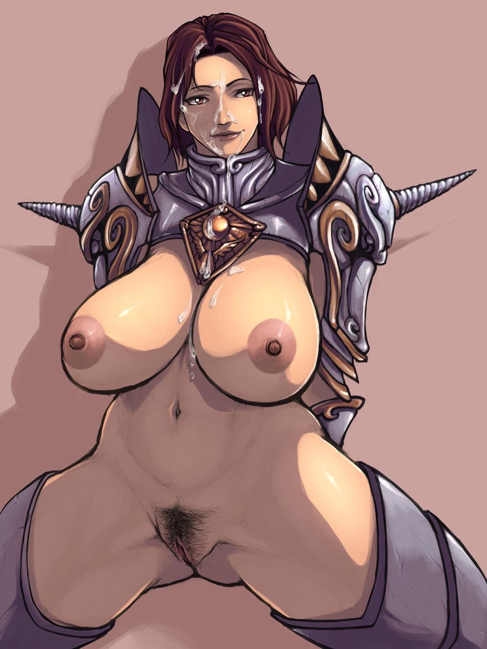 messiah might dark nudity magic of and Fate stay night purple hair girl