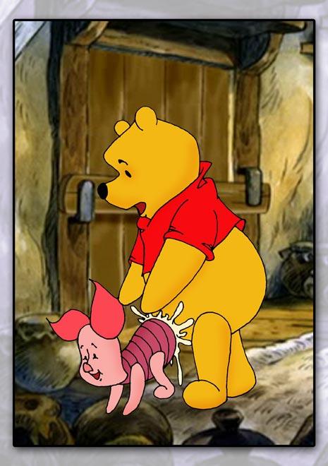 winnie the nasty jack pooh Tsun m! gyutto shibatte shidoushite the animation