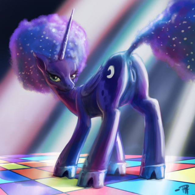 armour my shining little pony Sneefee black and blue comic