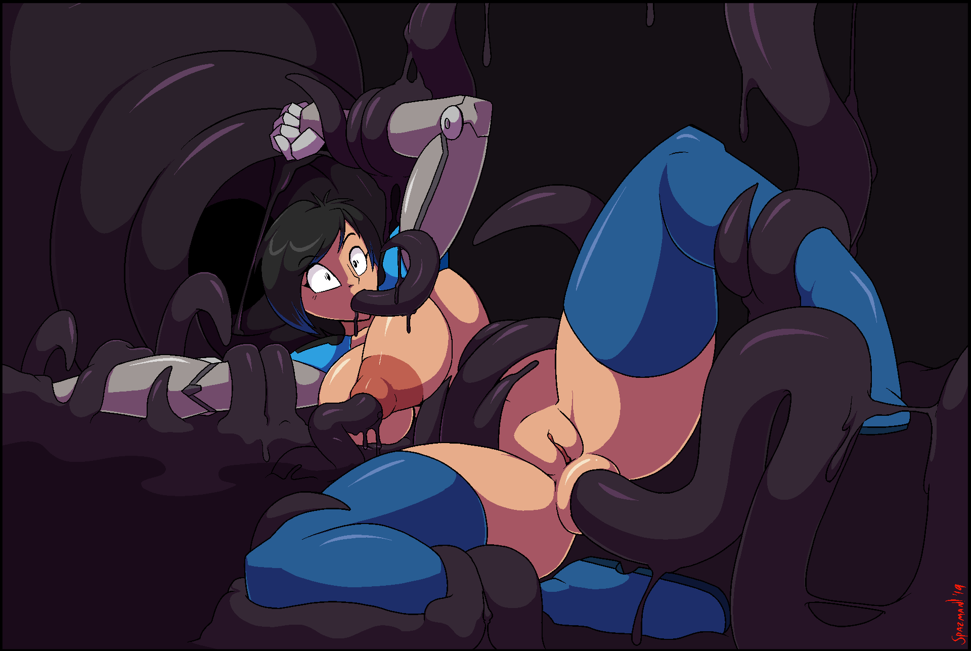 way the tentacle all through League of legends vi