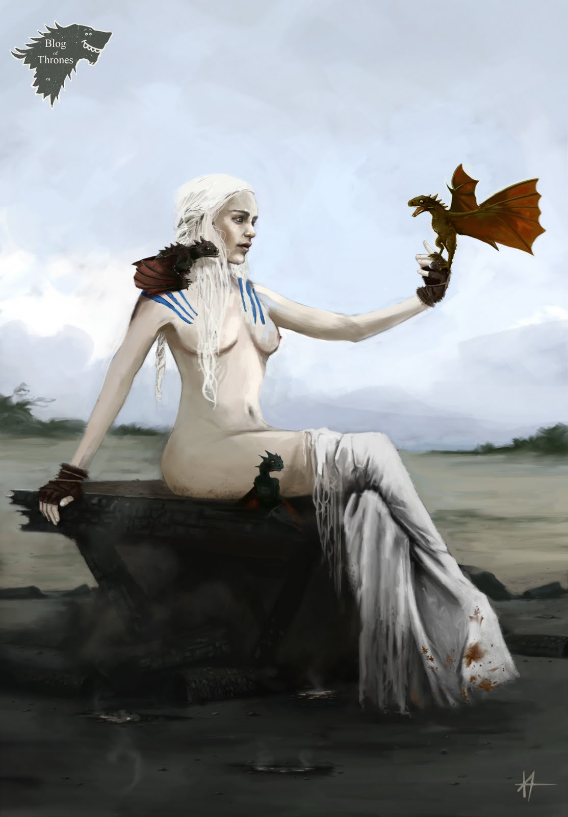 game thrones of targaryen daenerys porn Highschool of the dead female characters