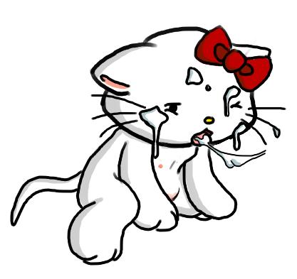 kitty n groove bust a Oshiete! galko-chan!