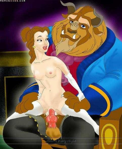 and the triplets beauty in beast Oh joy sex toy furry