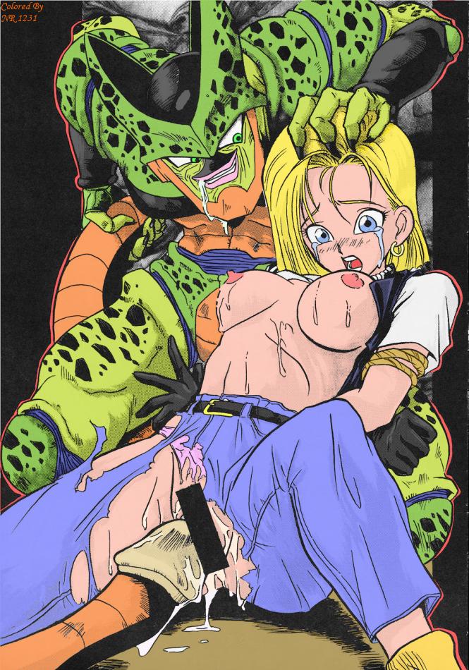 18 android (dragon ball) Roberta tubbs and hayley smith