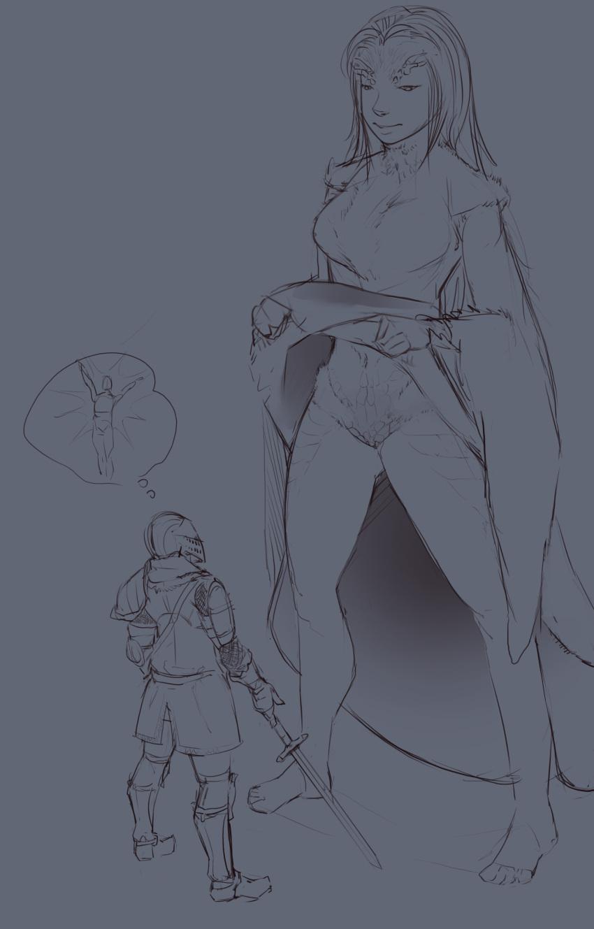 souls sorceress 2 desert dark rosabeth Devilhs-adult-art