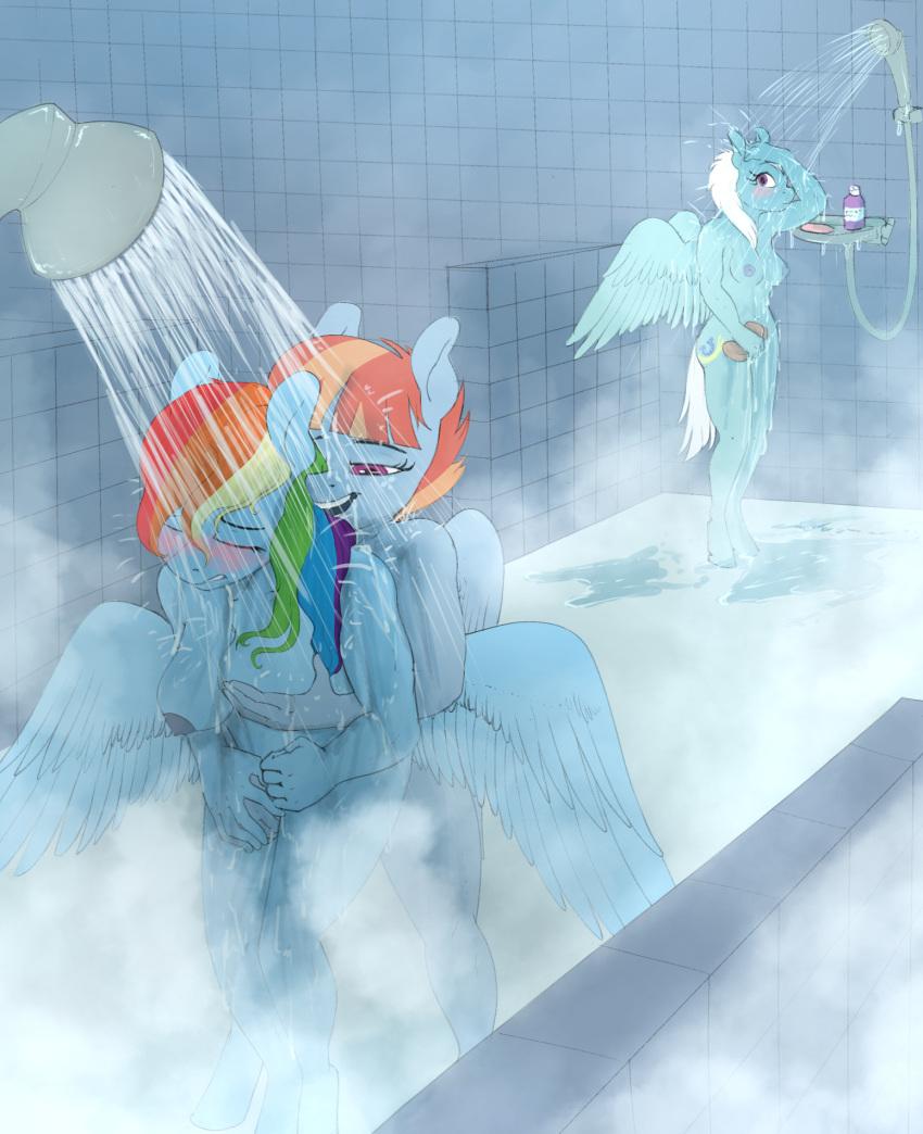 and fanfiction dash rainbow mlp spike Super mario odyssey rabbit girl