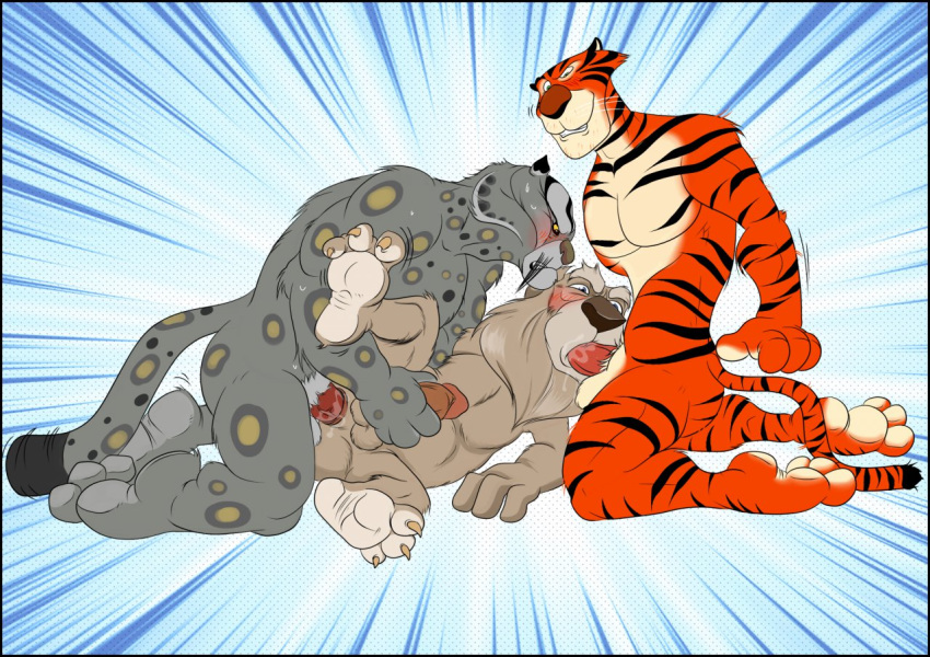 tigress and kung fu tai lung panda Hoozuki-san chi no aneki
