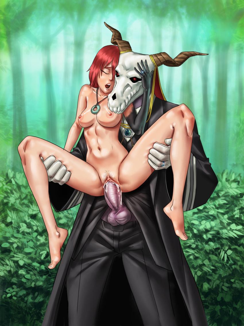 ancient magus bride the Cuphead baroness von bon bon