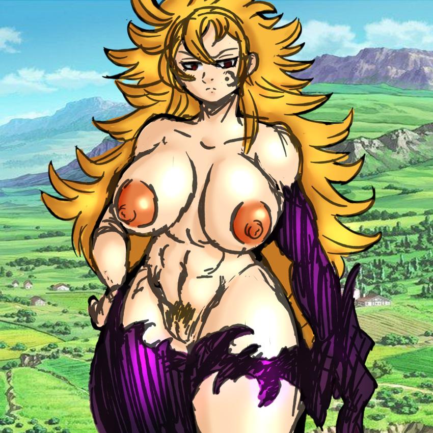 the elizabeth deadly nude seven sins Xenoblade 2 wulfric heart to heart