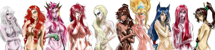 of league katarina legends nude Tentacle hentai all the way through
