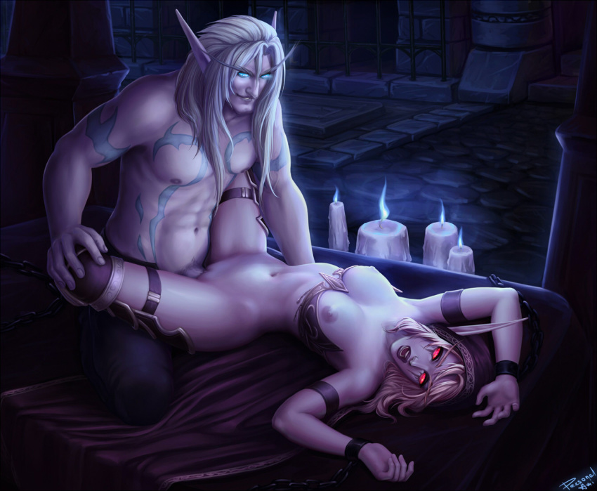 elf blood elf night and Fallout new vegas