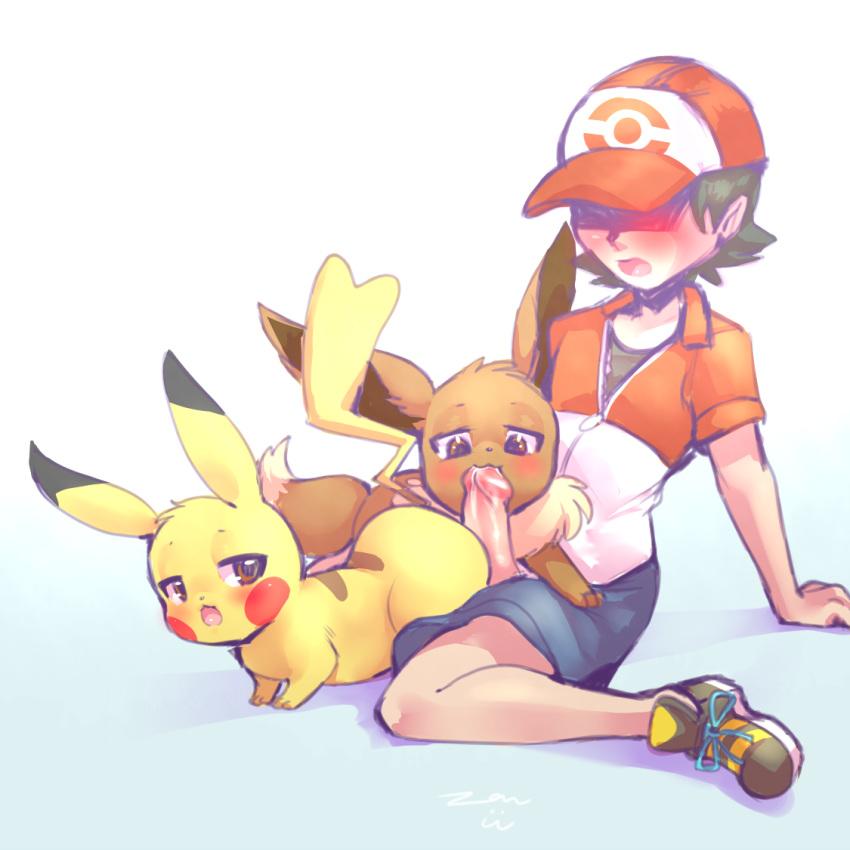dog dick bun hot in a Pokemon sun and moon yaoi